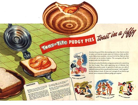 Apple pudgy pie recipe