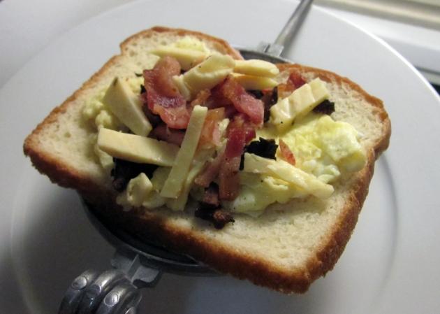 Joe's Bacon and Egg Brekky Jaffle